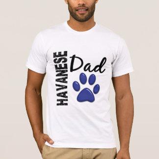 T-shirt Papa 2 de Havanese