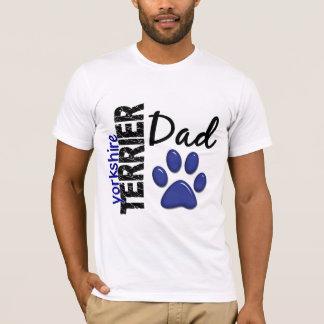 T-shirt Papa 2 de Yorkshire Terrier