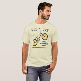 T-shirt Papa bleu/jaune de rad - Keepin toujours il vrai