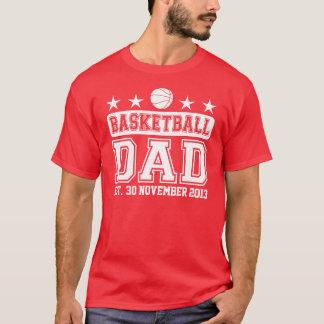 T-shirt Papa de basket-ball