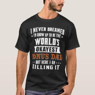 T-shirt Papa de bonification d'Okayest du monde