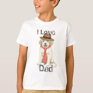 T-shirt Papa de Grands Pyrénées