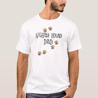 T-shirt Papa de lévrier afghan