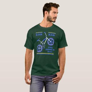 T-shirt Papa de rad de bleu royal - Keepin toujours il