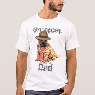 T-shirt Papa de Shar-Pei