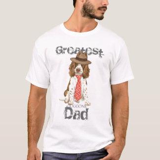 T-shirt Papa de springer anglais