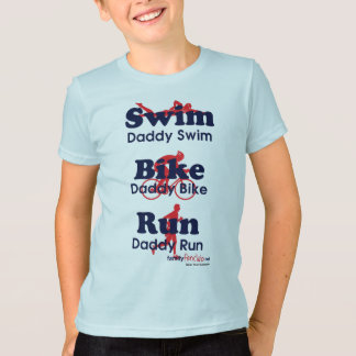 T-shirt Papa de triathlon