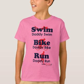 T-shirt Papa de triathlon de l'ÉQUIPE SCHEUNGRAB