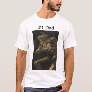 T-shirt Papa du numéro un