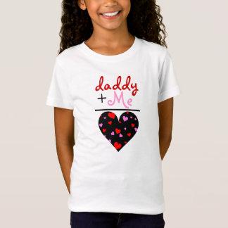 T-Shirt Papa et moi chemise de jour de Valentine
