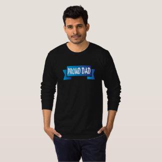 T-shirt Papa fier