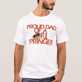 T-shirt Papa fier de Springer joyeux