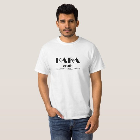 T-shirt Papa Hockey 3