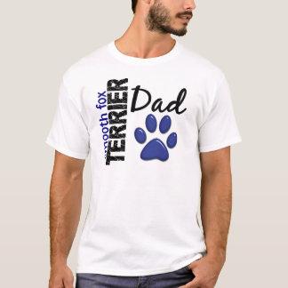 T-shirt Papa lisse 2 de Fox Terrier