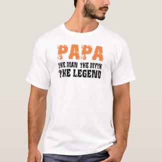 T-shirt Papa (orange)
