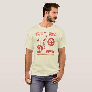 T-shirt Papa rouge BMX de rad