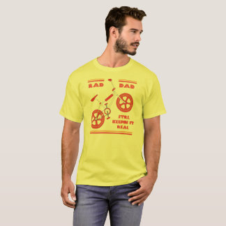 T-shirt Papa rouge de rad - Keepin toujours il vrai