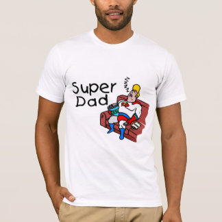 T-shirt Papa superbe (sommeil)