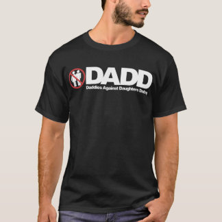 T-shirt Papas de DADD contre dater de filles