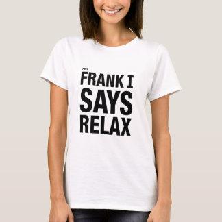 T-shirt Pape Frank I dit détendent