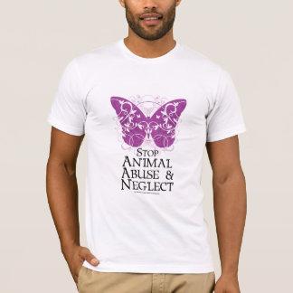 T-shirt Papillon animal d'abus
