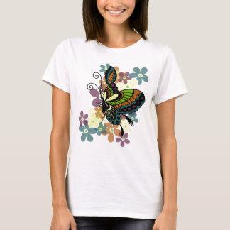 T-shirt Papillon brillant