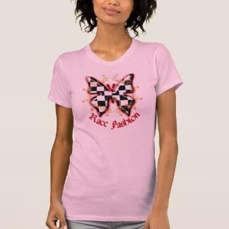 T-shirt Papillon Checkered