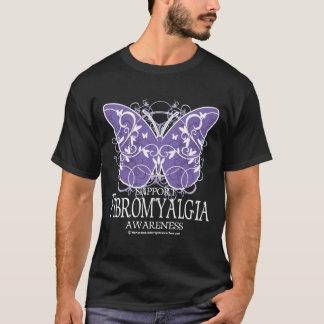 T-shirt Papillon de fibromyalgie