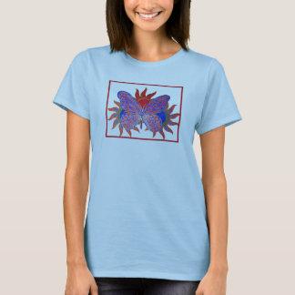 T-shirt Papillon de flambage Sun
