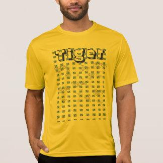 T-shirt papillon de queue d'hirondelle de tigre