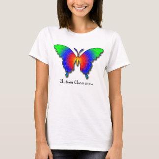 T-shirt Papillon de sensibilisation sur l'autisme