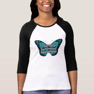 T-shirt Papillon de Tourette