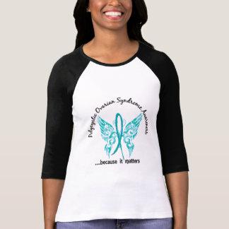T-shirt Papillon grunge 6,1 PCOS de tatouage