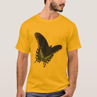 T-shirt Papillon noir