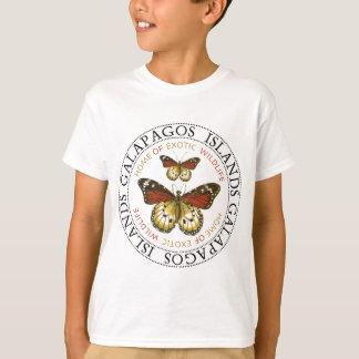 T-shirt Papillons d'îles de Galapagos