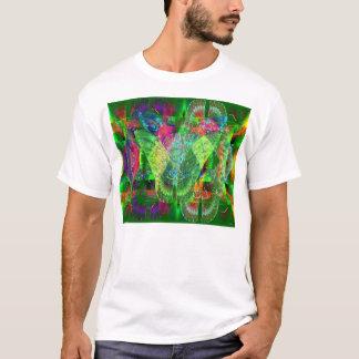 T-shirt Papillons sur le mur