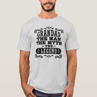 T-shirt Papy l'homme le mythe la légende