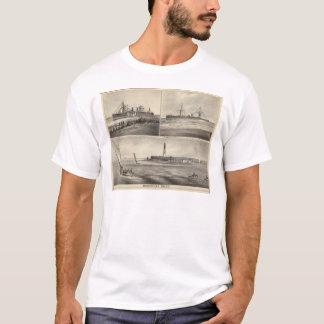 T-shirt Paquebot Amerique d'admission de Barnegat