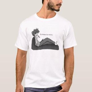 T-shirt Par des artistes pour la chemise d'artistes