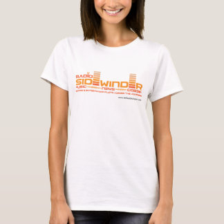 T-shirt par radio de femmes de Sidewinder