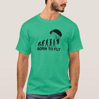T-shirt Parachutisme d'évolution soutenu pour voler