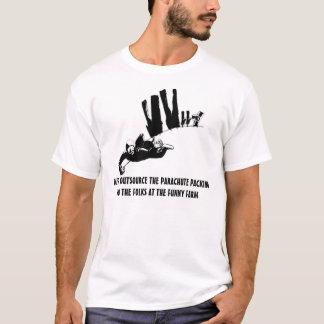 T-shirt Parachutisme politiquement incorrect