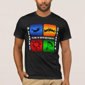 T-shirt Parachutisme spectaculaire