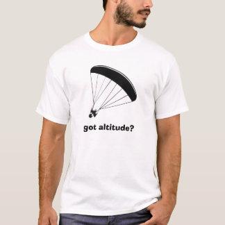 T-shirt parapentiste, obtenu l'altitude ?