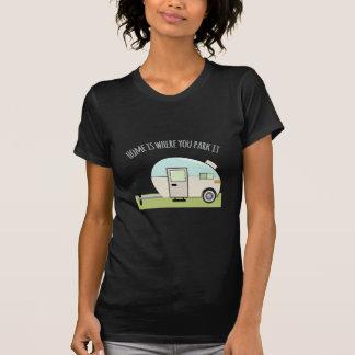 T-shirt Parc à la maison
