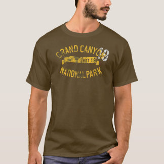 T-shirt Parc national Arizona de canyon grand