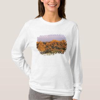 T-shirt Parc national de bad-lands dans le Dakota du Sud