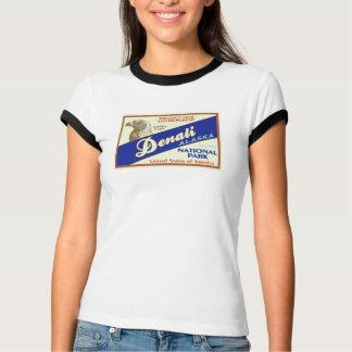 T-shirt Parc national de Denali (Eagle d'or)