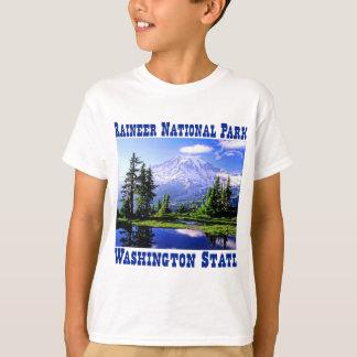 T-shirt Parc national de Raineer - l'état de Washington