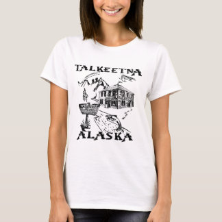 T-shirt Parc national de Talkeetna Alaska Denali